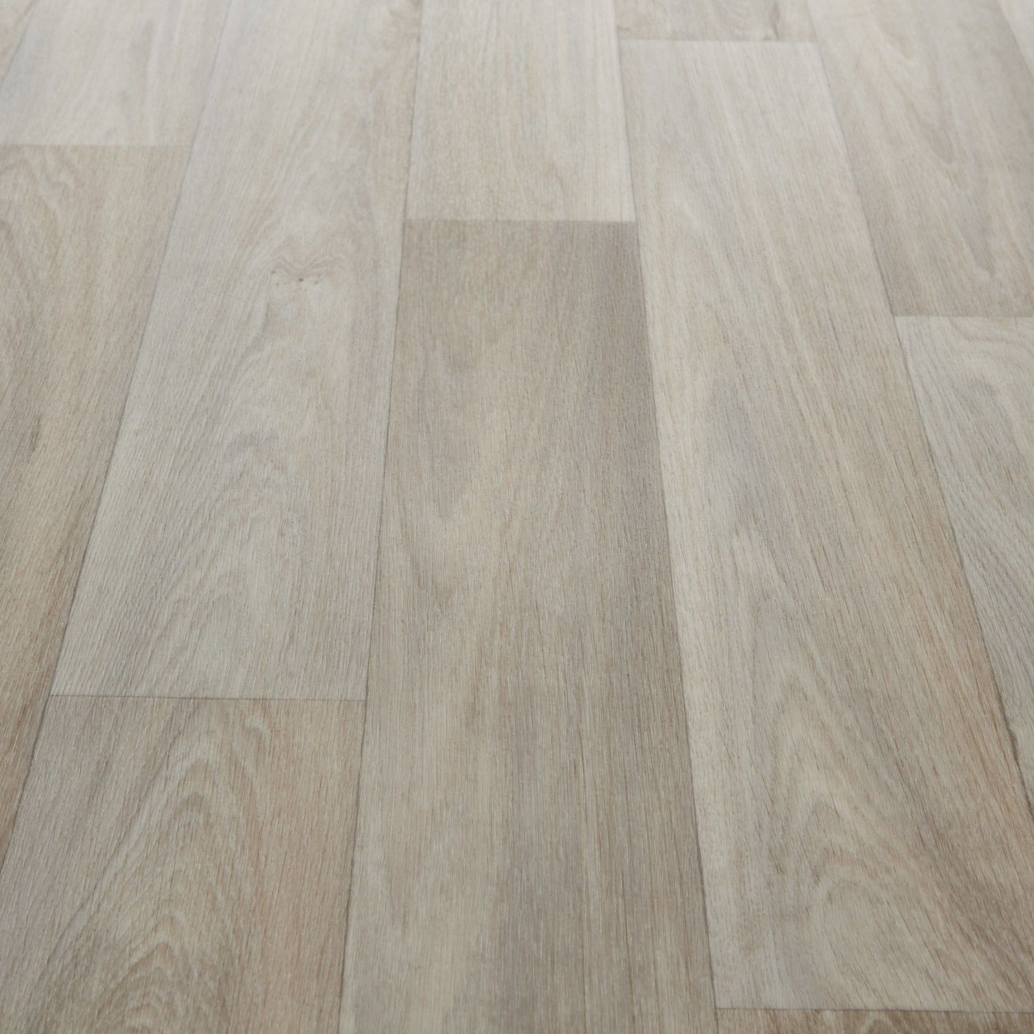 Planet ii 706 camargue white wood effect vinyl flooring for White kitchen vinyl floor