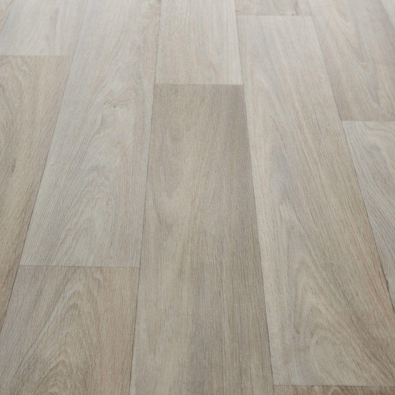 Planet Ii 706 Camargue White Wood Effect Vinyl Flooring White