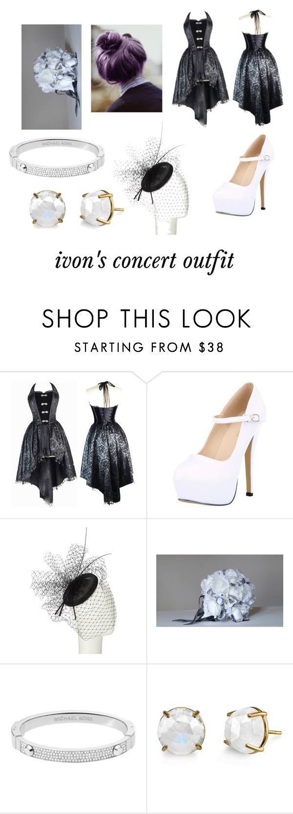 """""""bad romance remake outfit"""" by leftintgeshadows ❤ liked on Polyvore featuring John Lewis and Michael Kors"""