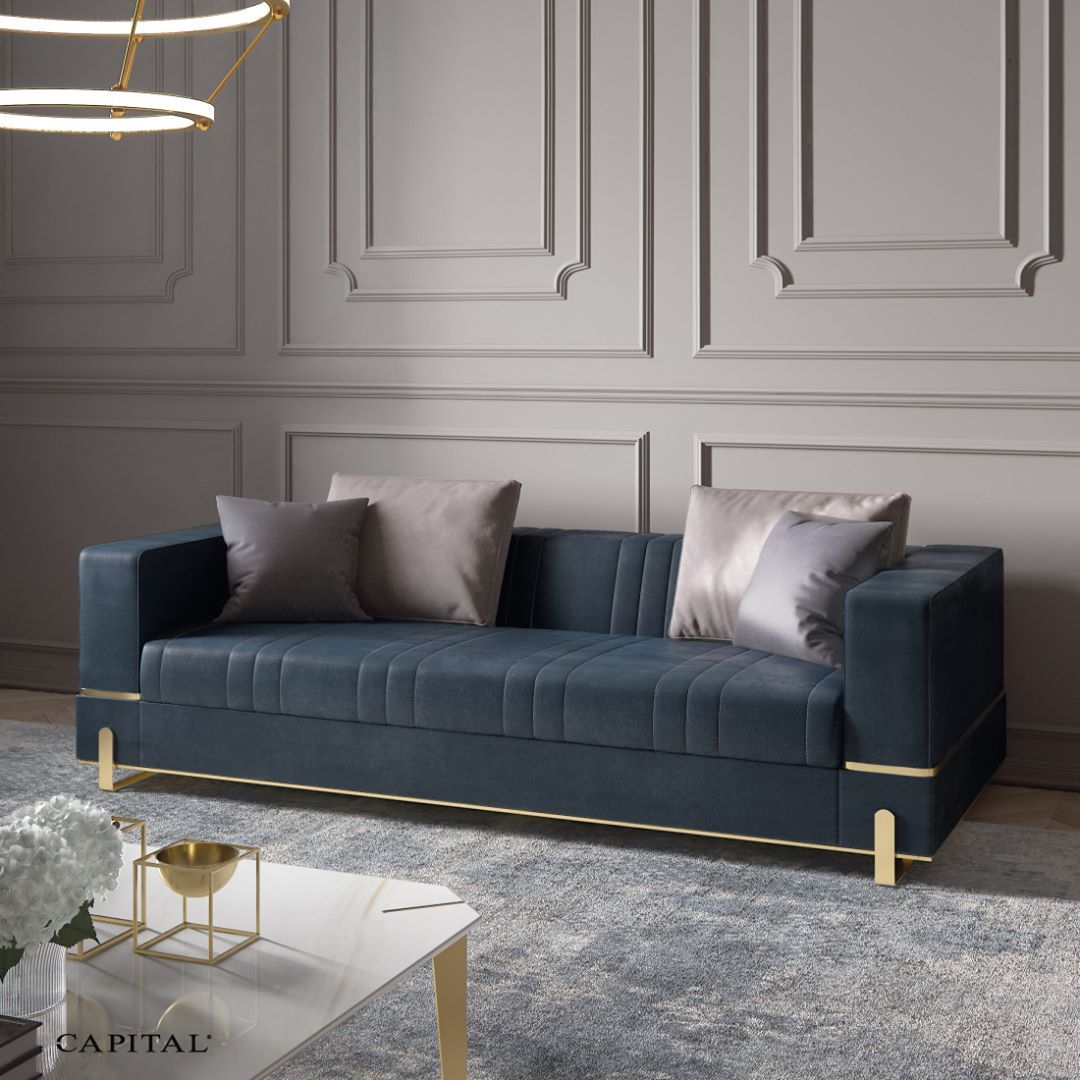 Italian Exclusive Interiors On Instagram Be Inspired By Capital S Signature Elegance Capital Capitalcollection Gran Italian Sofa Luxury Sofa Sofa Design