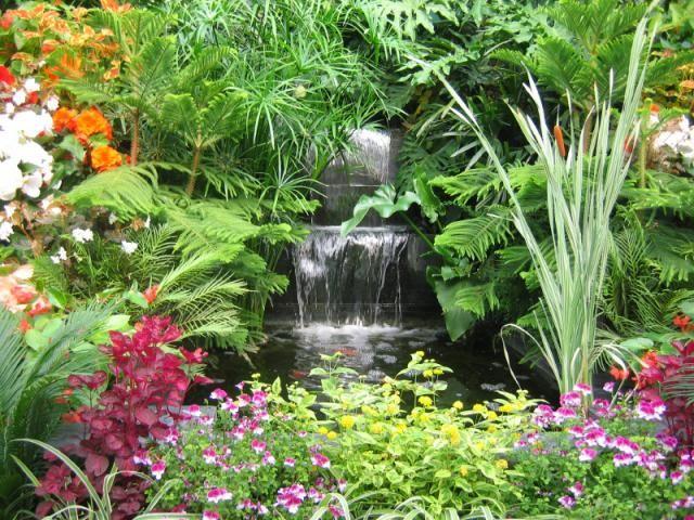 Waterfall Garden Design Inspiration Ideas