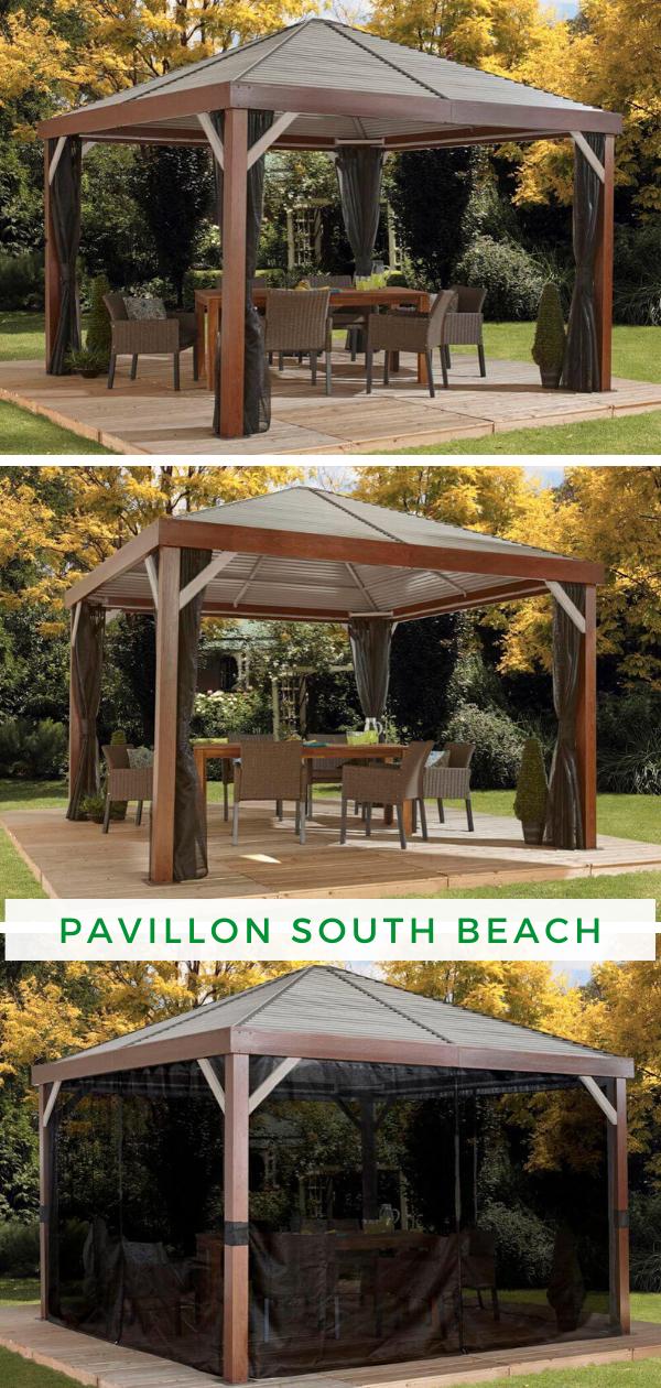Aluminium Pavillon South Beach 12x12 in 2020 Pavillon