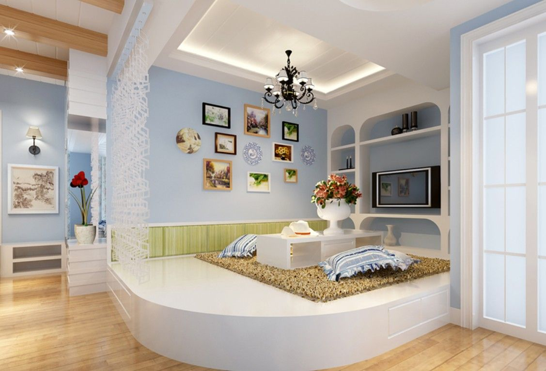 Explore Room Interior Design And More Mediterranean Blue Tatami