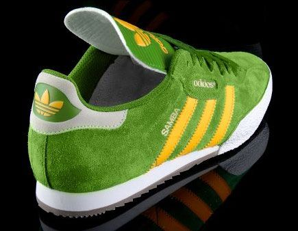 adidas samba green suede boots