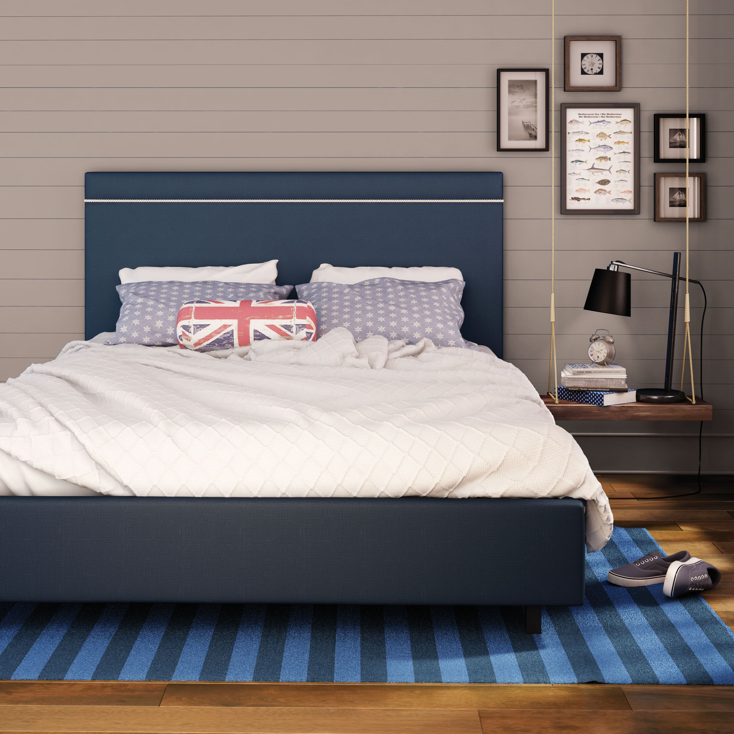 Amisco breeze bed 12504c furniture bedroom urban - Show me pictures of bunk beds ...