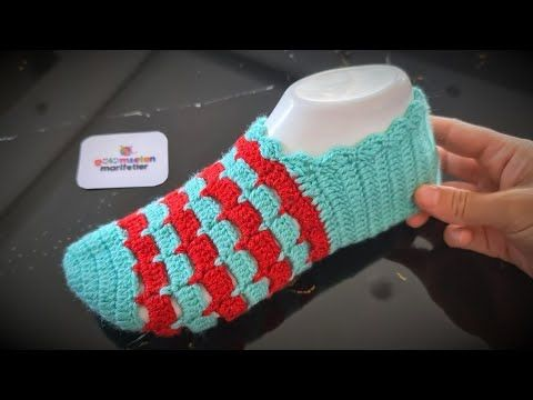 Photo of Very stylish and very beautiful dowry crochet shoes model making / Booties models with crochet 2020