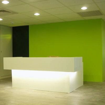 Office Reception Counter From Tell World Solid Surface China