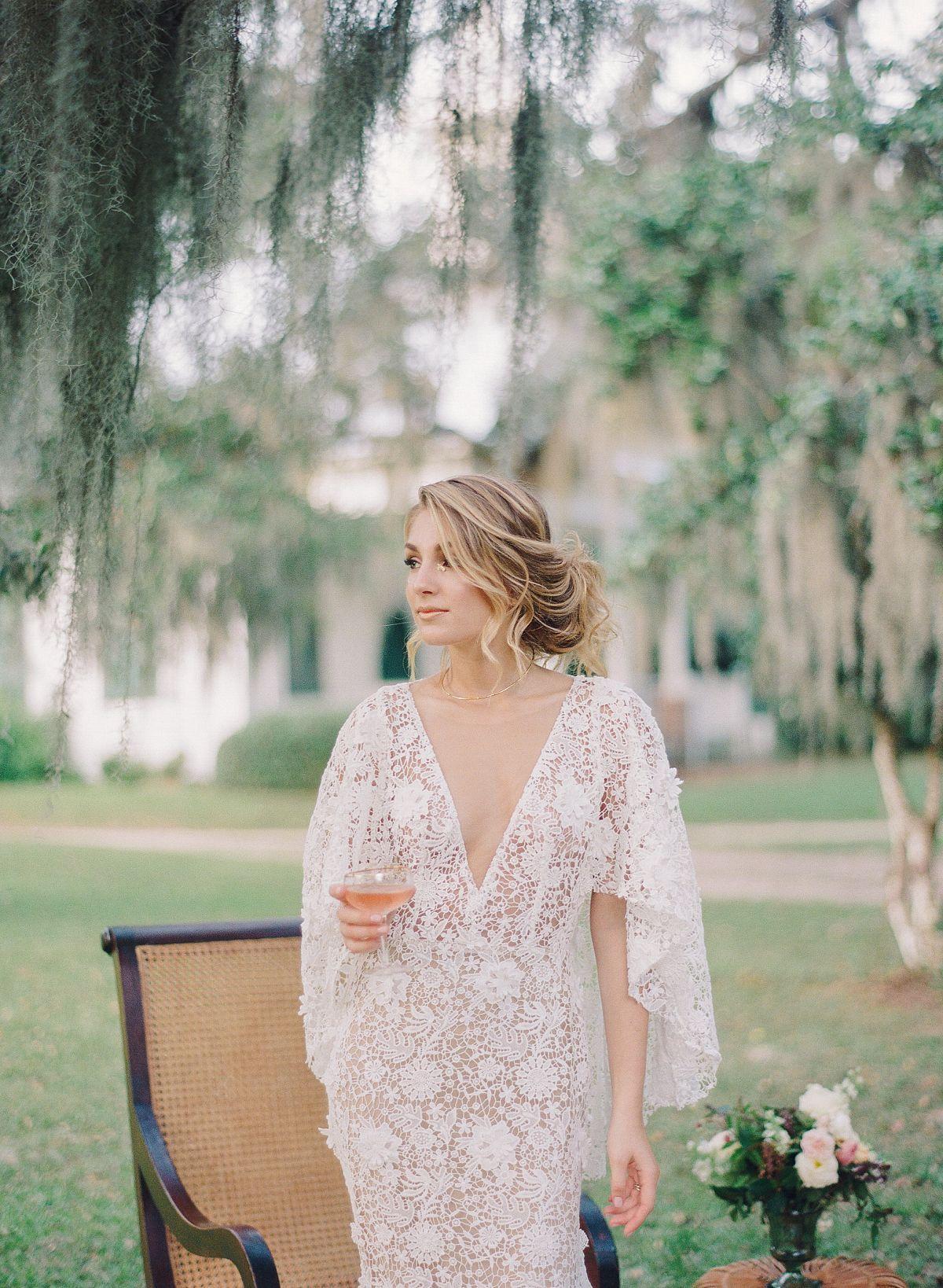 Heirloom Southern Belle Bridal Style Casamento boho