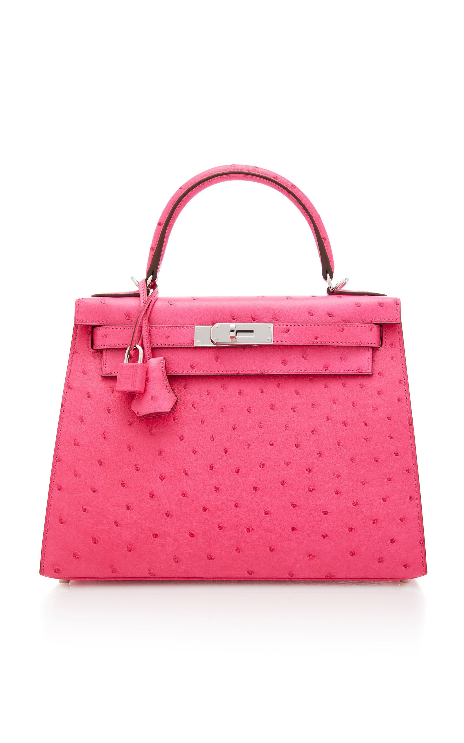 afd789158ab Hermes Rose Tyrien Ostrich Sellier Kelly by HERMES VINTAGE for Preorder on  Moda Operandi