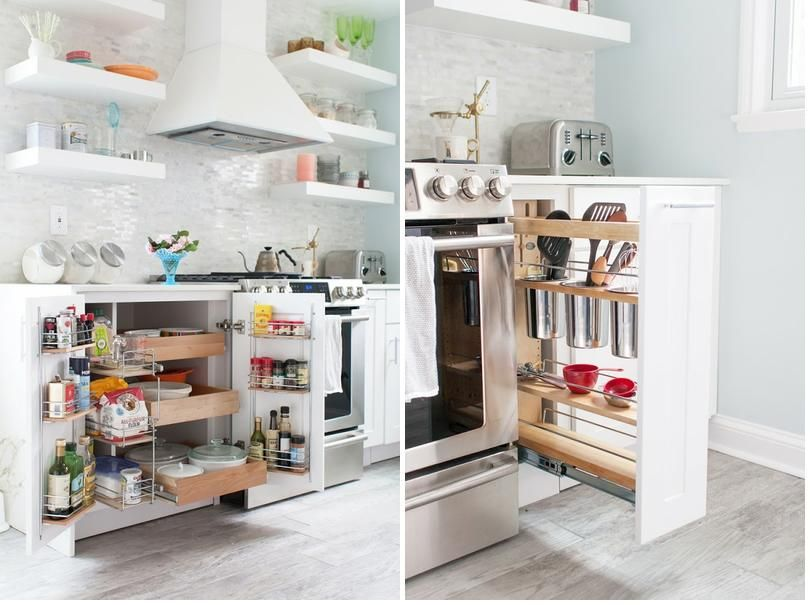 soluciones de almacenaje para una cocina pequea