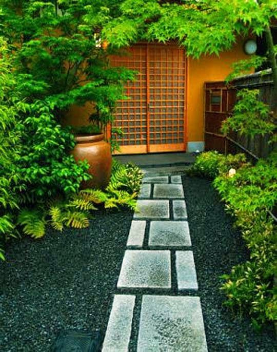 Amazing House With Japanese Garden Design For Small Spaces On Contemporary  And Wall