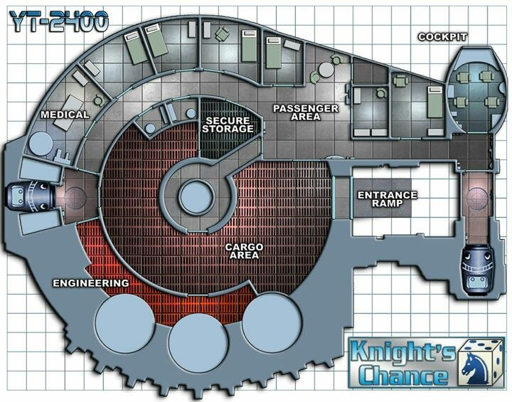 Deckplans - Starship: a collection of ideas to try about Geek ...