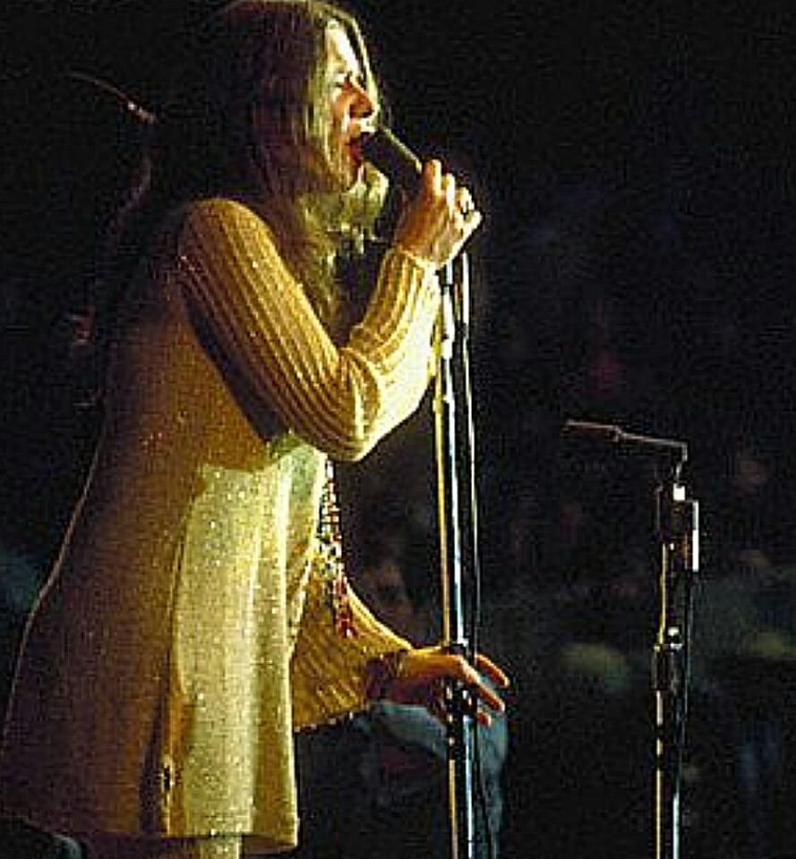 Ball And Chain At The Monterey Pop Festival 1967 Photo By Ted
