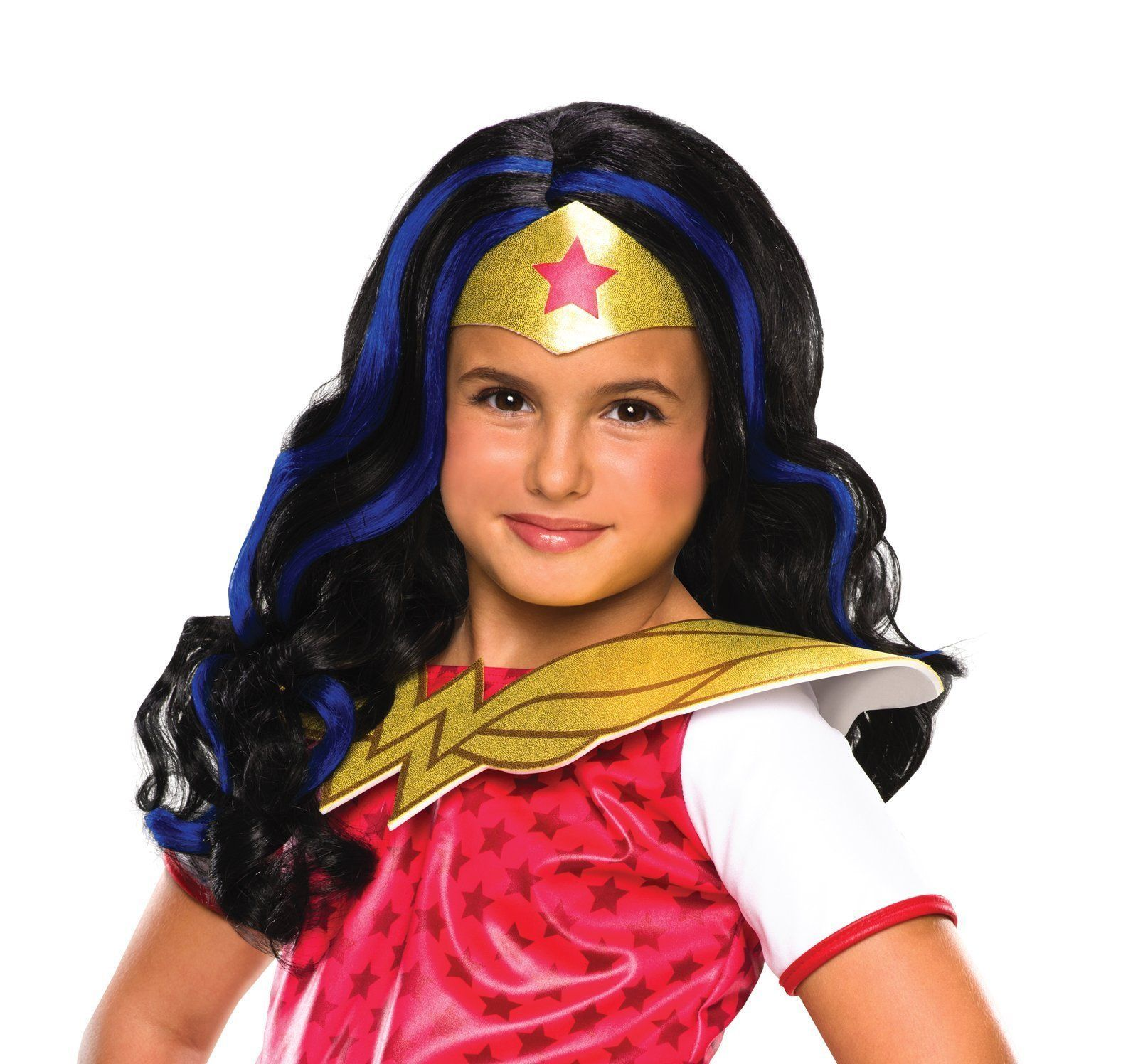 DC Superhero Girls Wonder Woman Child Wig  Products  Pinterest
