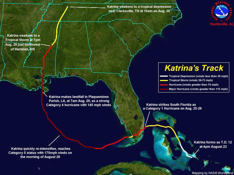 Image Result For Katrina Hurricane Path Hurricane Path Hurricane Winds Tropical Storm