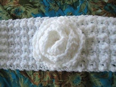 Free Headband Ear Warmer Crochet Pattern Super Easy Textured