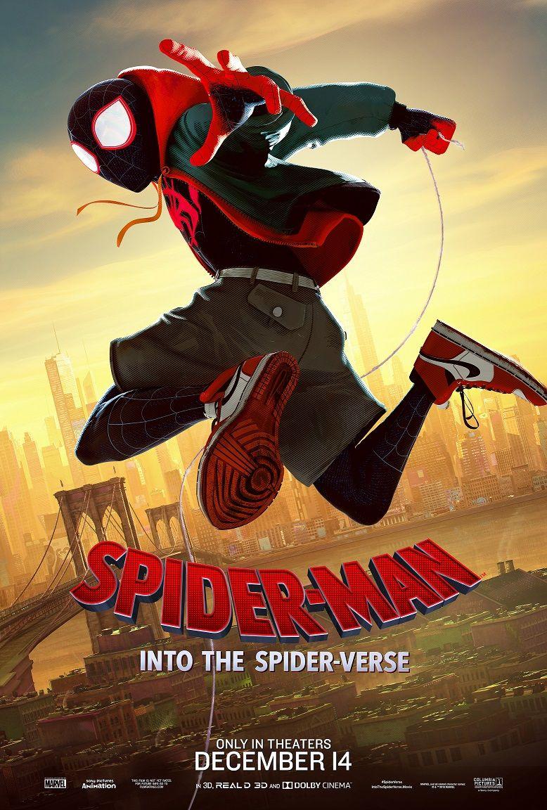 Resultado de imagem para homem aranha no aranhaverso poster