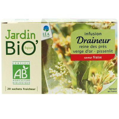 Infusion Draineur Bio Les Infusions Sante Bien Etre Jardin Bio