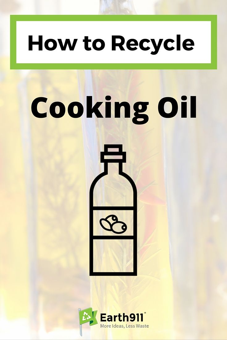 How To Recycle Cooking Oil Cooking Oil Recycling Oils