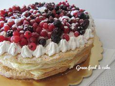 Millefoglie ai frutti di bosco http://blog.giallozafferano.it/greenfoodandcake/millefoglie-ai-frutti-di-bosco/