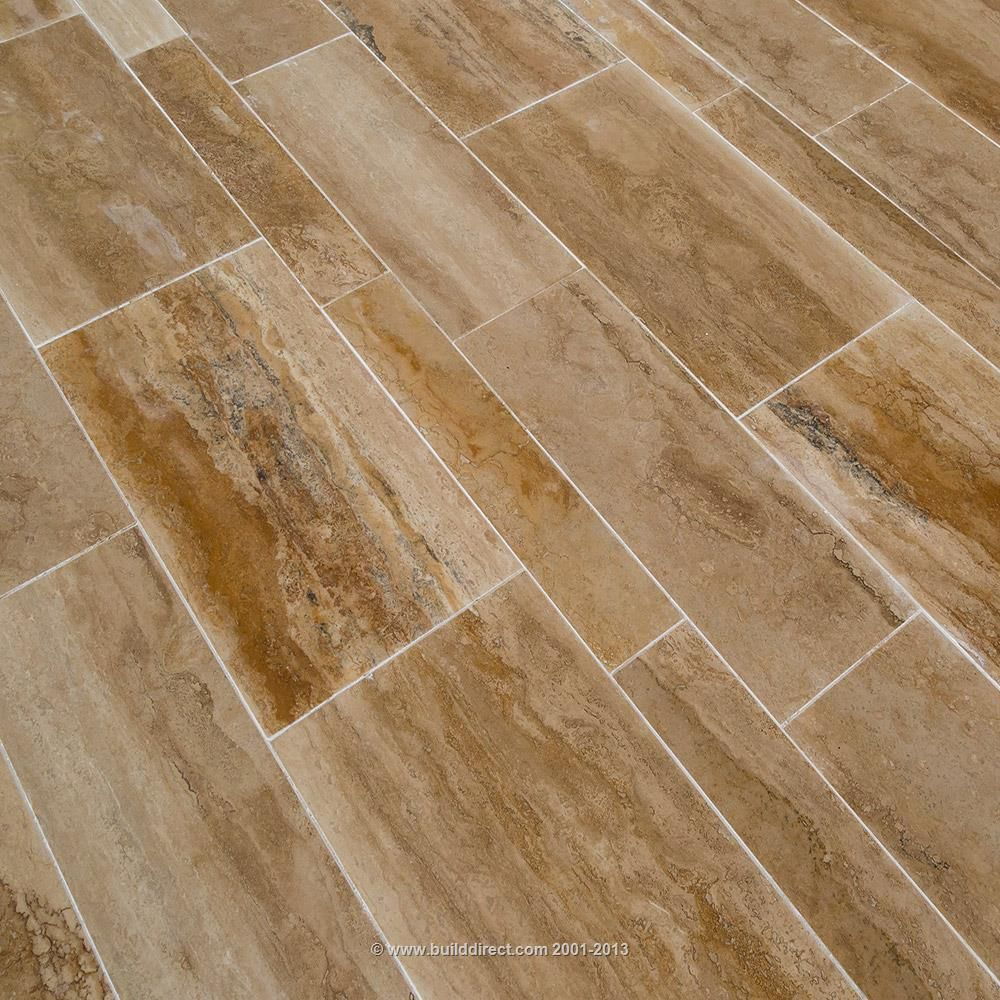 Izmir Travertine Tile - Planks And Sets