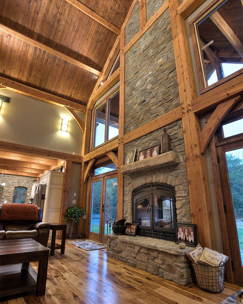 Indooroutdoor fireplaces ski lodgemountain homesnowy cabin