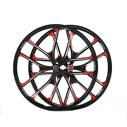 c70d30c890c Bike Wheels - MTB 5 spokes mountain bike wheels magnesium alloy 26 speeds  wheels 26 275 Mountain Bicycle Wheel parts bike rims *** Learn more by  visiting ...
