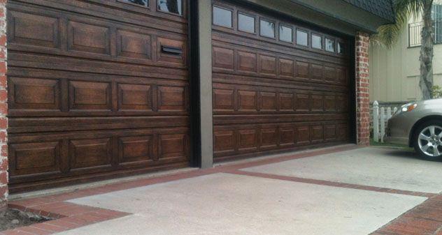 Best Way To Paint Metal Garage Doors Method For Applying Wood