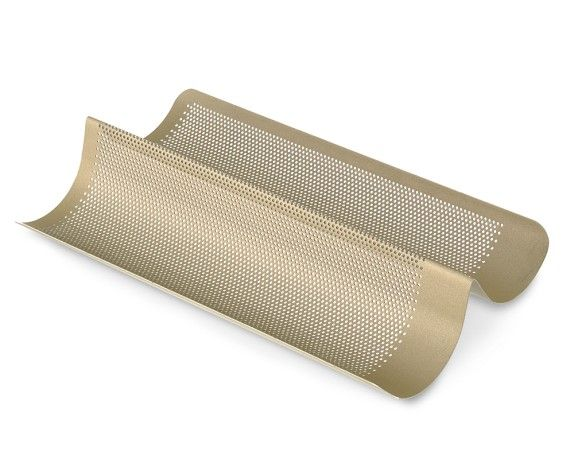 Goldtouch Nonstick Perforated French Bread Pan Pan Bread Williams Sonoma Mini Loaf Pan