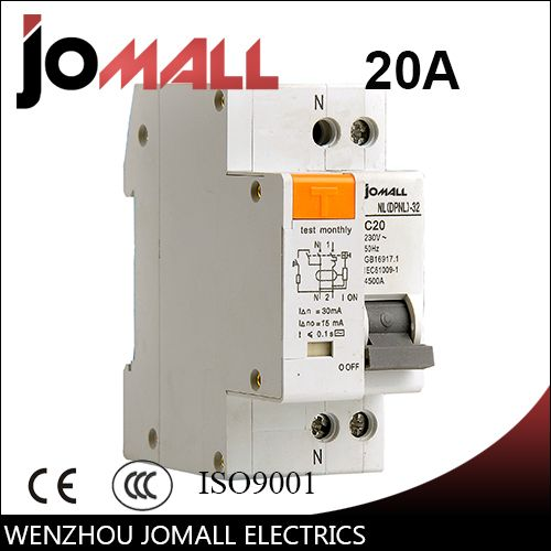 Dpnl 1p N 20a 230v 50hz 60hz Residual Current Circuit Breaker With Over Current And Leakage Protection Rcbo Circuit Cool Things To Buy Locker Storage