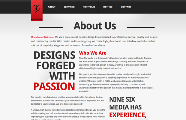 25 Best Examples Of About Me Pages Twelveskip About Us Page Design About Me Page Wordpress Template Design