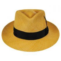 c4f1be546b1d96 Stain Repellent Panama Straw C-Crown Fedora Hat in 2019 | Men ...