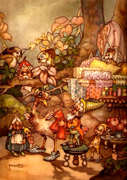 Peg Maltbyooo Fairy ClipartVintage