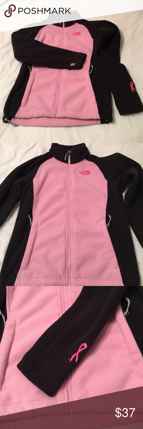 North face jacket Breast cancer awareness north face jacket The North Face Jackets & Coats Utility Jackets