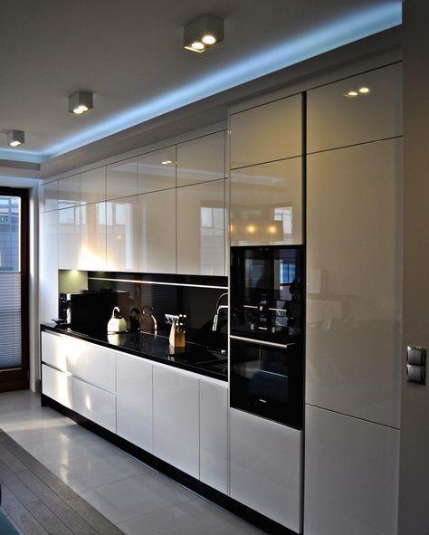 Ideas For One Wall Kitchen Modern Kitchen Design Kitchen Room Design Kitchen Design