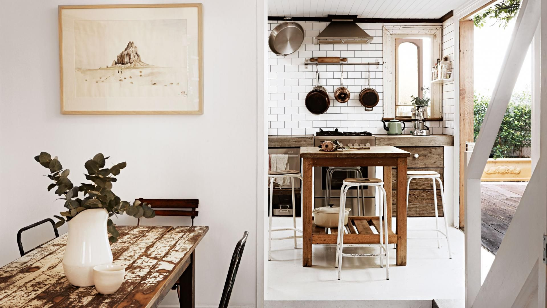 Industrial revival of a vintage cottage graphy by Fiona
