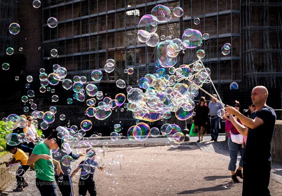 Bubbles Dream by SamsonTong People