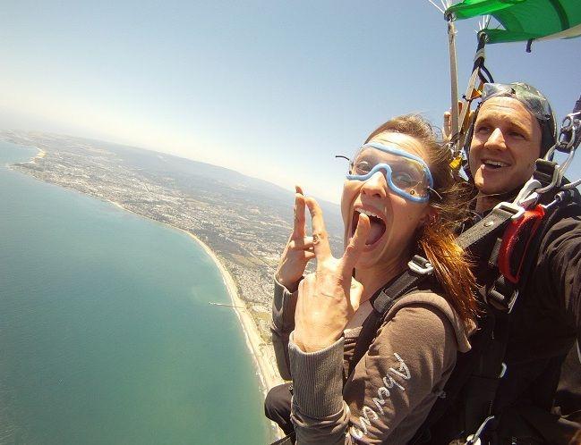 Tandem Information Skydiving California Travel Ocean Photos