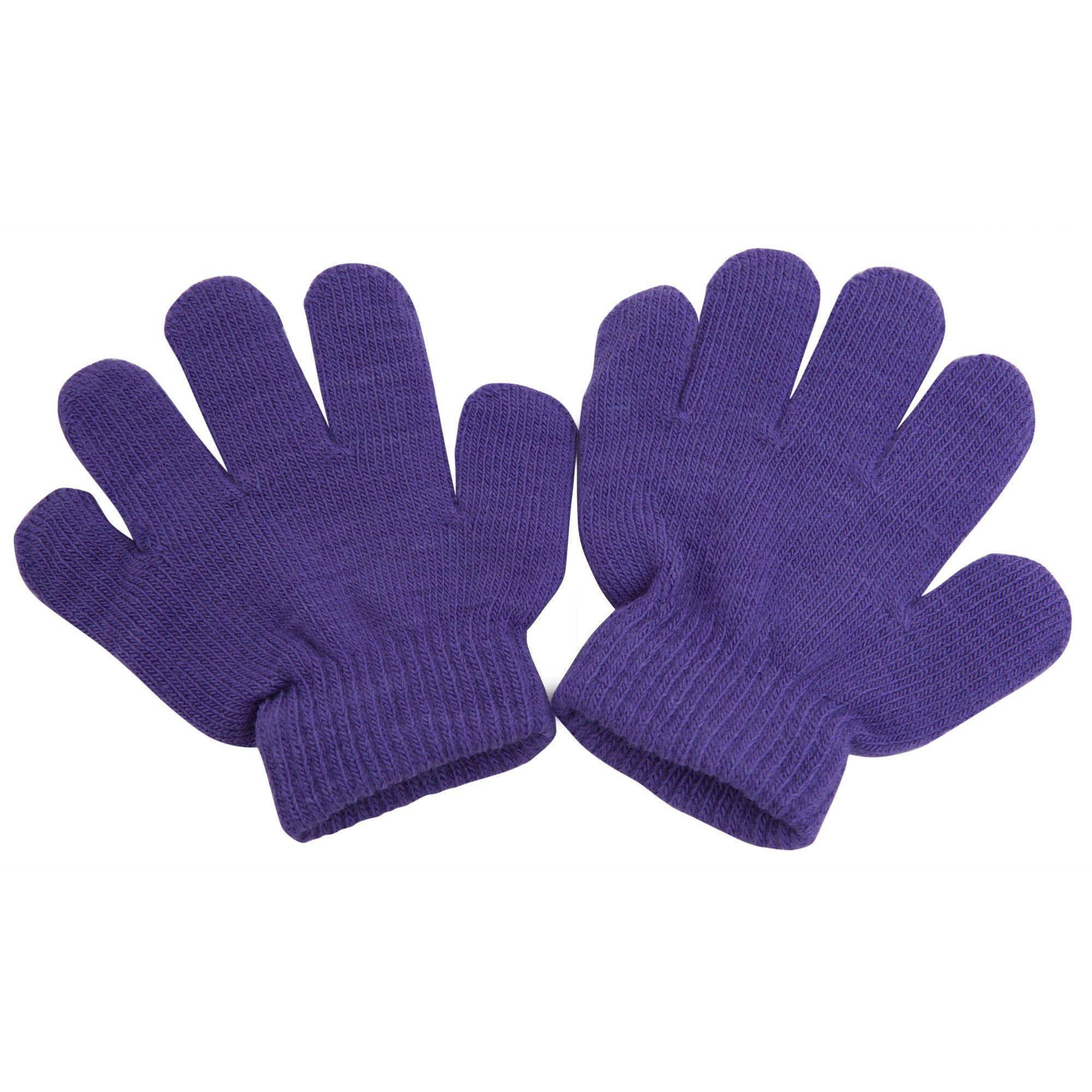 Girls Magic 2 in 1 Thermal Winter Gloves /& Fingerless Gloves