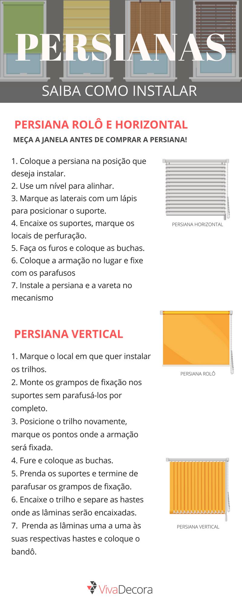 instalacion de persiana horizontal