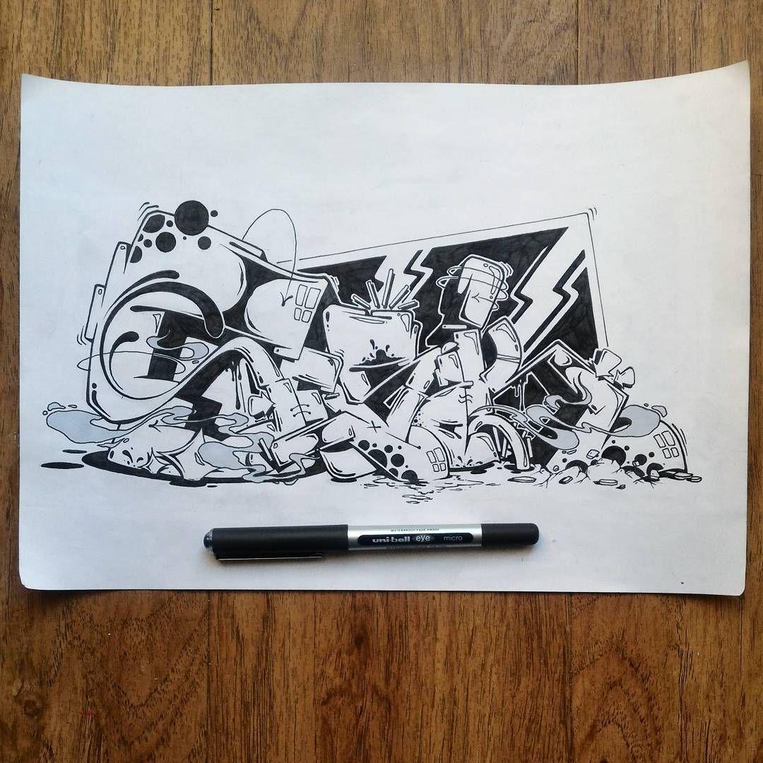 Gefallt  Kommentare Skase Skase_ Auf Instagram Graffiti Tagging