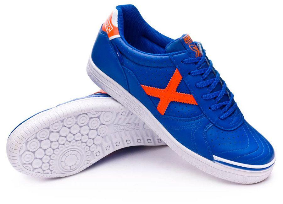 64e0a1a495cb football #soccer #futbol #futsal Munich G3 Profit - Blue / Orange ...