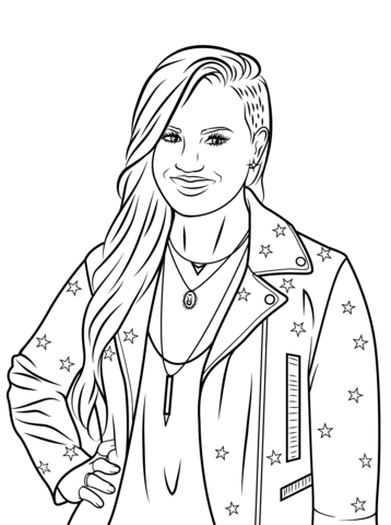 Demi Lovato Coloring Page New Year Coloring Pages Coloring Pages Demi Lovato