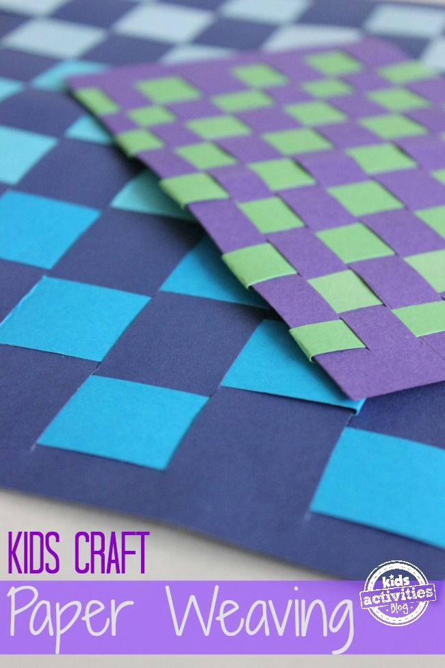 This Simple Paper Weaving Craft For Kids Is A Really Fun Way To Take Ordinary Scraps And Transform Them Into Colorful Art