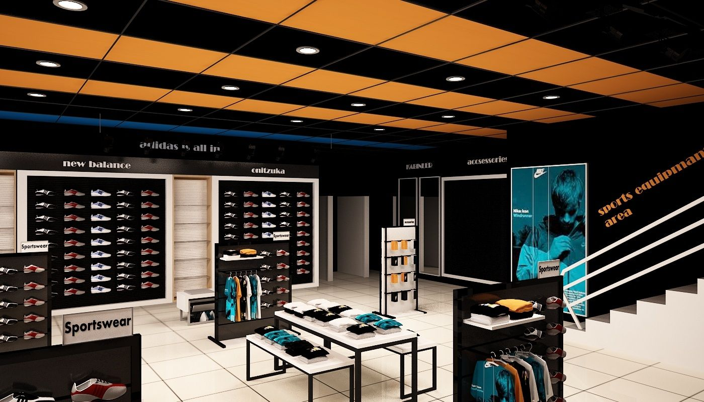 Alanya Store design store design shelving systems