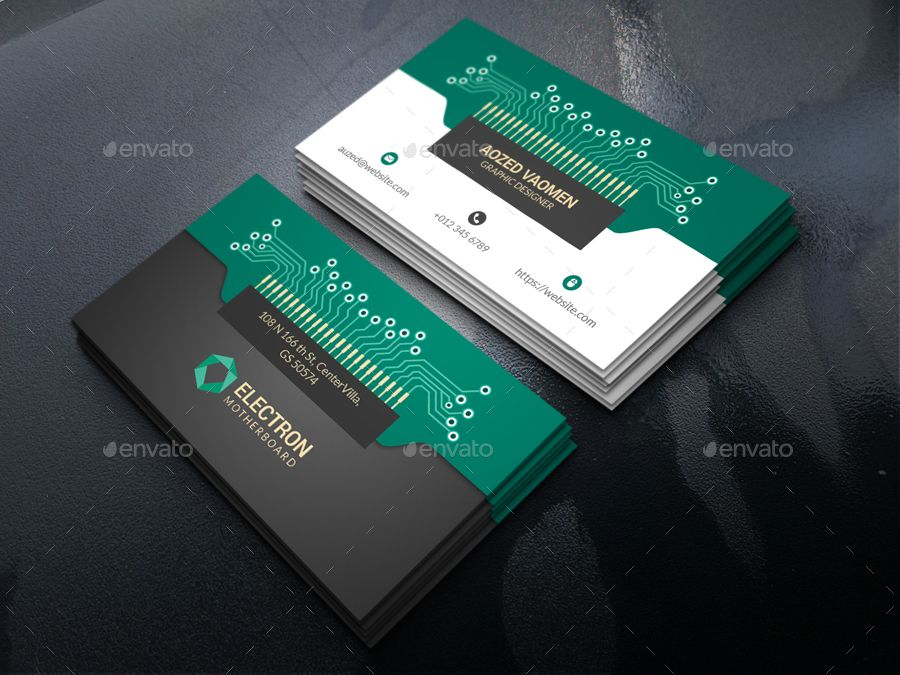 Electronics Business Card Electronic Business Electronic Cards Business Cards Creative