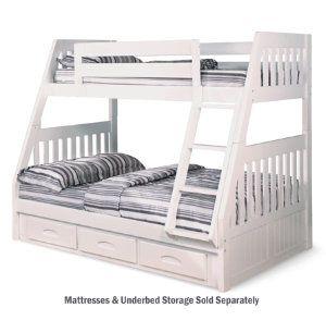 Twin Full Bunk Bed Youth Bedroom Bedrooms Art Van Furniture
