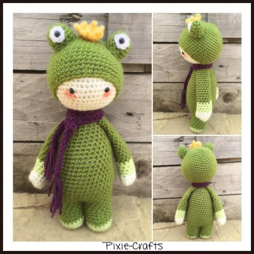 Pixie-Crafts • Today's completed make is this super cute frog...