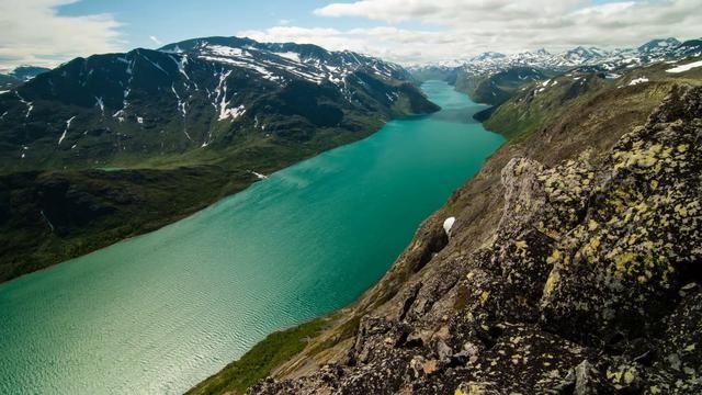 Besseggen by Espen Hagejordet. Shot July 25th 2012 during my hike over Besseggen, Norway.