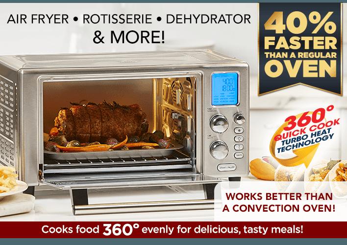 Emeril Power Air Fryer Better Than Convection Ovens